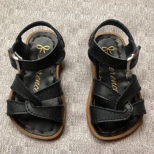 Toddler Girl Black Sandal Size 5